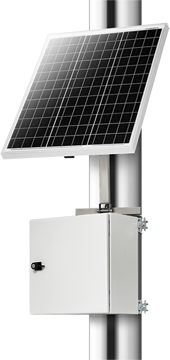 electrical enclosures and access Nodes NSBox solar powered